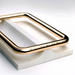 <p><strong><a href=pierre-charpin.html class=link-lightbox>Pierre Charpin</a></strong><br />Oggetti Lenti</p><p><strong>CENTROTAVOLA  20</strong><br />Centerpiece in marble, casted and polished bronze.<br />25 x 39 x h. 7 cm.</p><p>Limited edition of 20 signed and numbered pieces.</p>